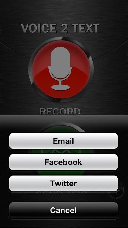 Voice 2 Text
