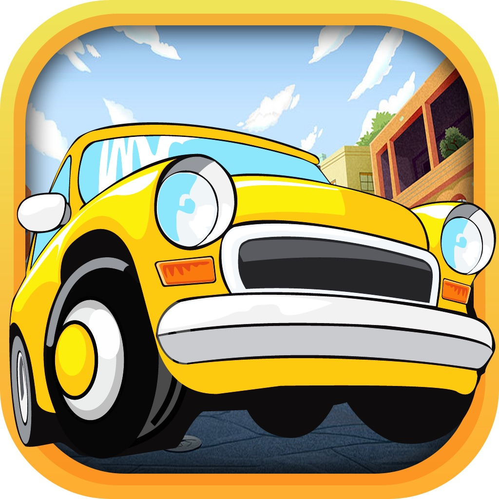 Freeway Lane Splitter Fury - Cool Crazy Taxi Cabs Drivers