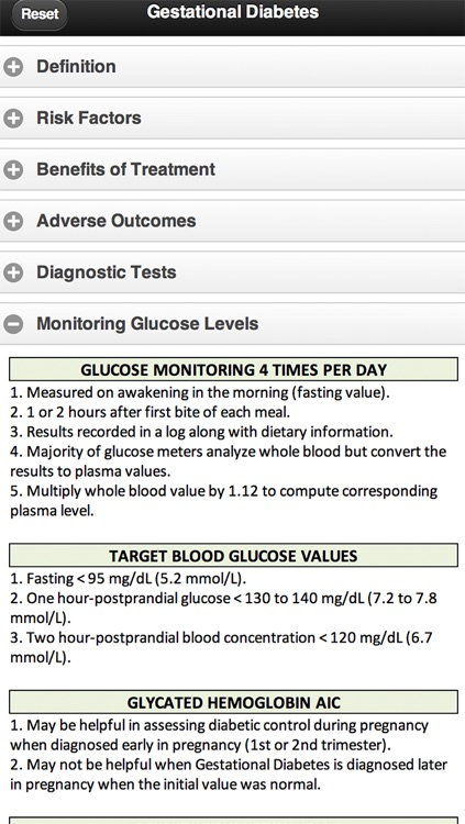 Diagnosis and Management of Gestational Diabetes screenshot-3