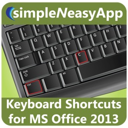 Keyboard Shortcuts for MS Office 2013 by WAGmob