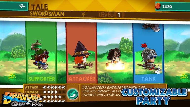Bravura - Quest Rush screenshot-3