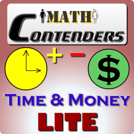 Math Contenders Time And Money Lite icon