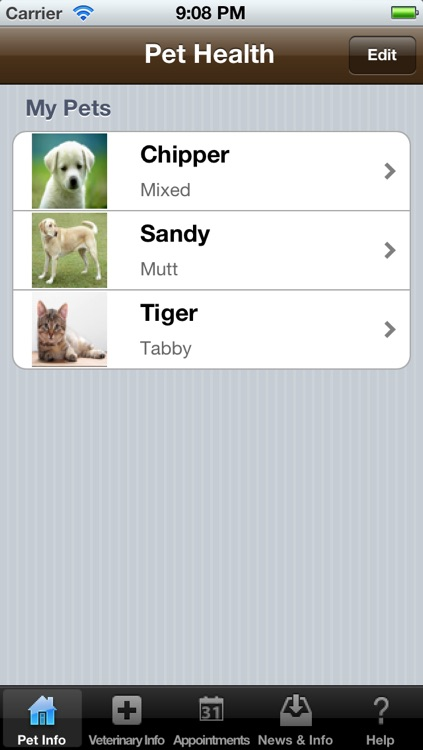 Pet Health (Medical Diary and Log)