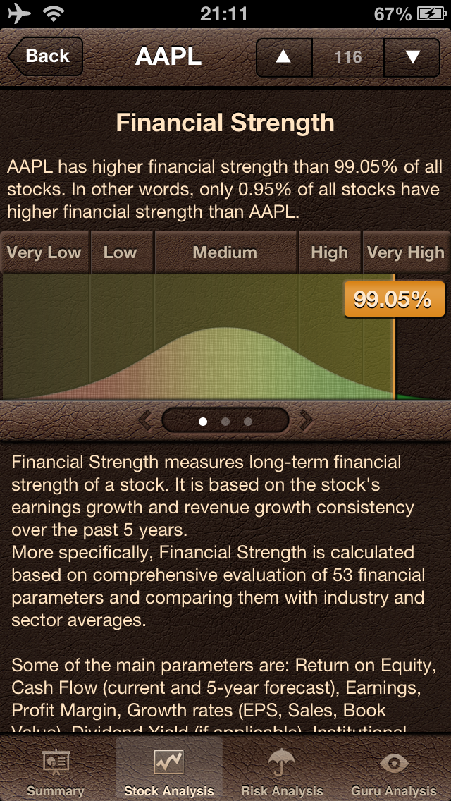 Stock Guru Pro Screenshot