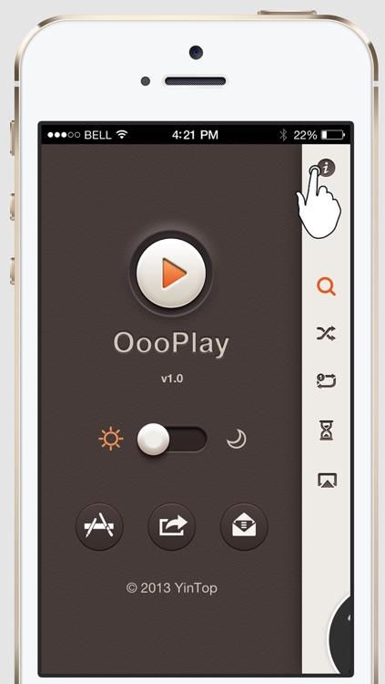 OooPlay - Minimalist Music Player screenshot-3