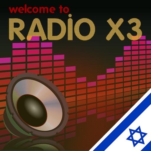 רדיוים מישראל - X3 Israel Radio