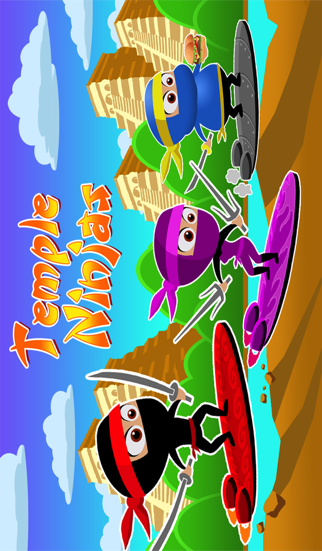 A Temple Ninja Race - Pro Adventure Gameのおすすめ画像1