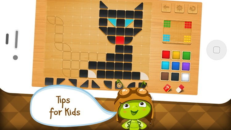 Mosaic Tiles - Art Puzzle Game for Schools by A+ Kids Apps & Educational Games