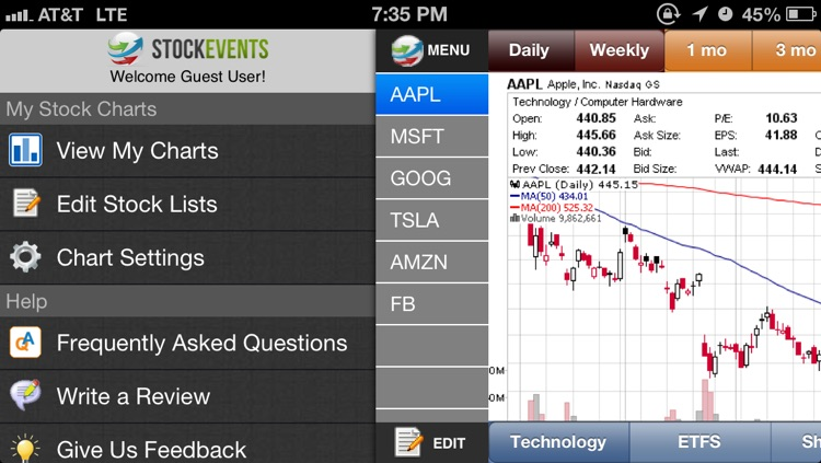 My Stock Charts screenshot-1