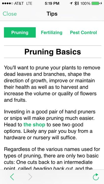 Waterbug Plant Care Guide screenshot-3