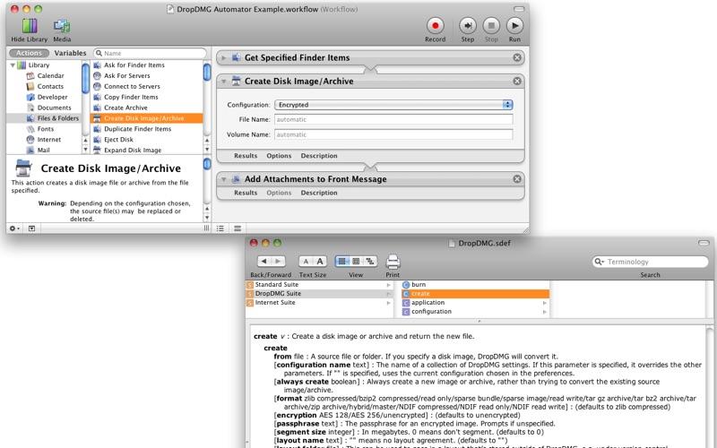 DropDMG Screenshot