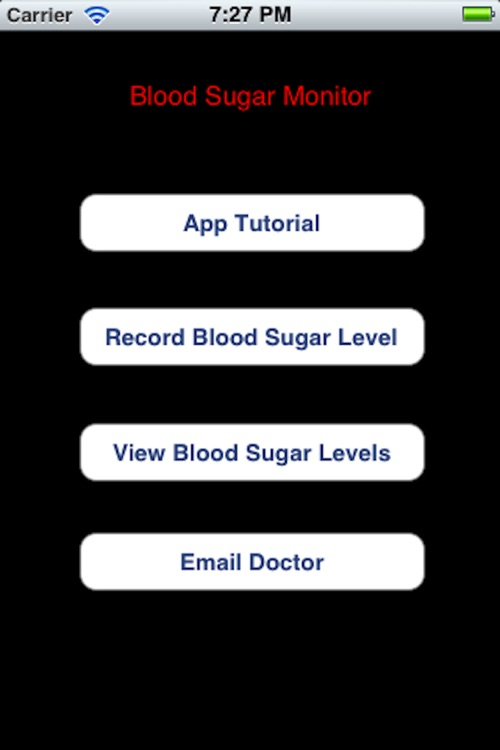 Blood Sugar Monitor
