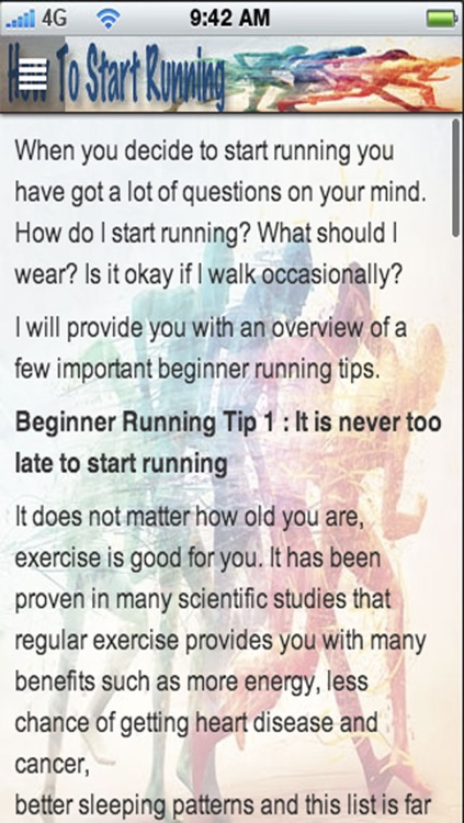 How To Start Running: Start Running, Jogging & Get Fit screenshot-4