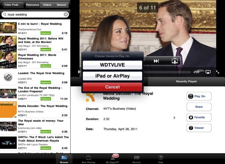 ZappoTV HD screenshot-4