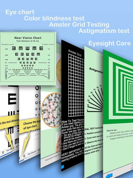 Eyesight Test and care