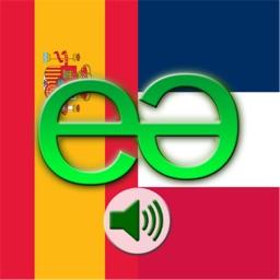 Spanish to French Voice Talking Translator Phrasebook EchoMobi Travel Speak LITE