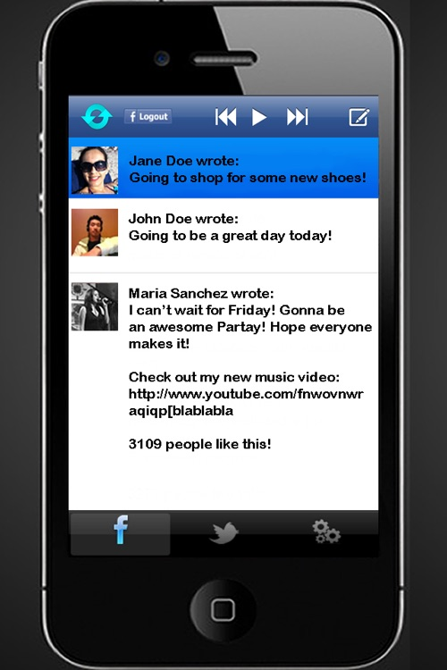 SocialSpeech: Speech-to-Text and Voice Recognition for Facebook Status Updates and Twitter Tweets
