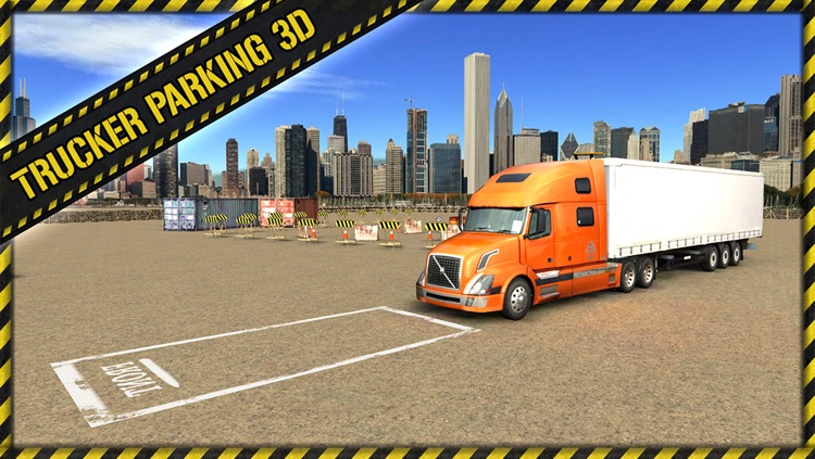 Trucker Parking 3D screenshot-0