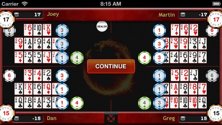 Chinese Open Face Poker screenshot-3