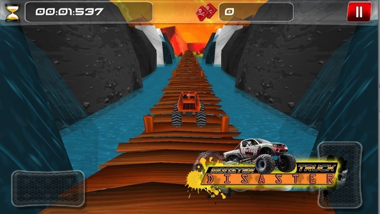 Monster Truck Disaster ( 3D Car Racing Games )