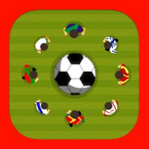 A Soccer Ball Star Drop World Match Game - Free Version