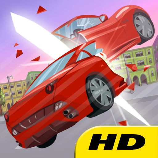 CUT THE CARS HD - Racing has never been so fun for kids