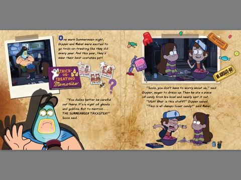 gravity falls happy summerween by disney book group on apple books