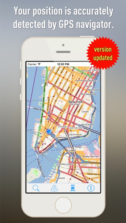 Offline Map New York - Guide, Attractions and Transports