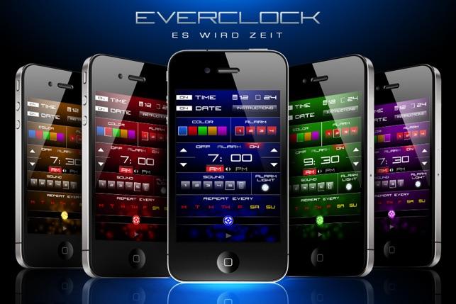 Weckruf Uhr : Everclock Pro Screenshot