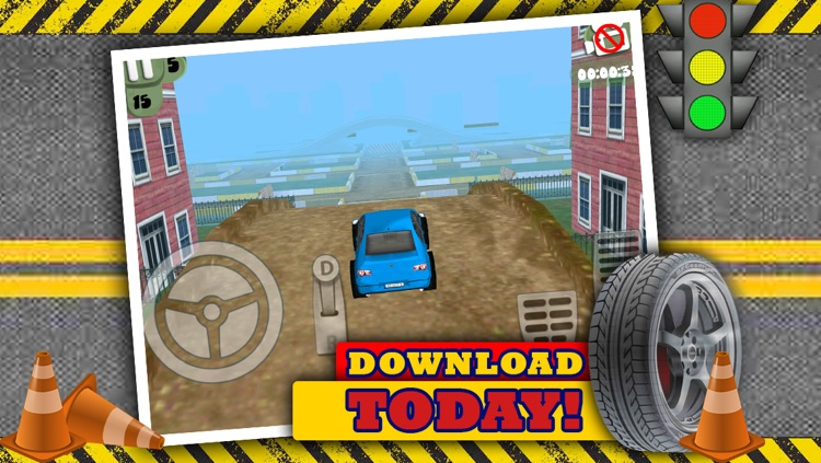 Fun 3D Race Car Parking Game For Cool Boys And Teens By Top Driver Racing Games FREE screenshot-4