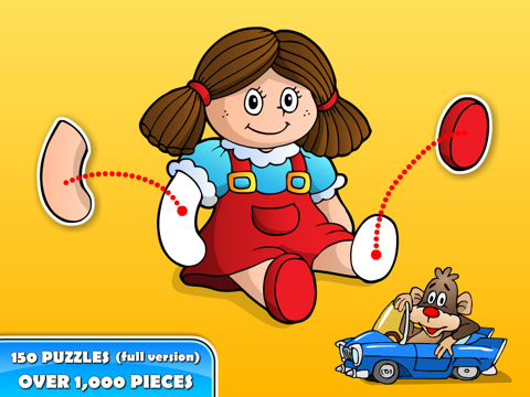 Puzzle Toddler Preschool! screenshot 2