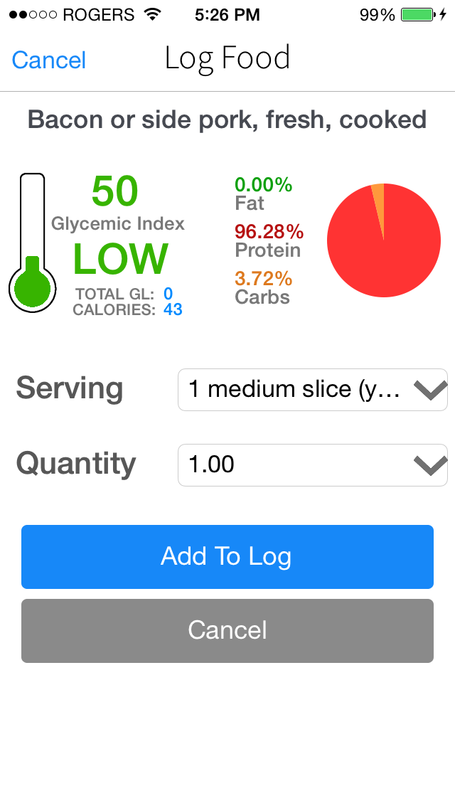 Low GI Diet Glycemic Load, Index, & Carb Manager Tracker for Diabetes Weight Lossのおすすめ画像5