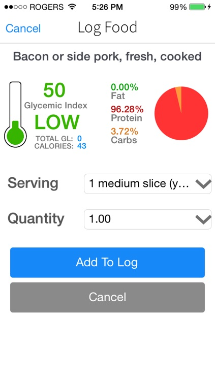 Low GI Diet Glycemic Load, Index, & Carb Manager Tracker for Diabetes Weight Loss screenshot-4