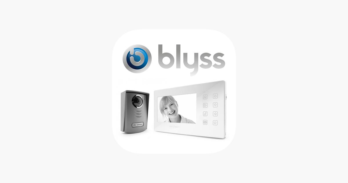 App Store Blyssring L Interphone Connecté