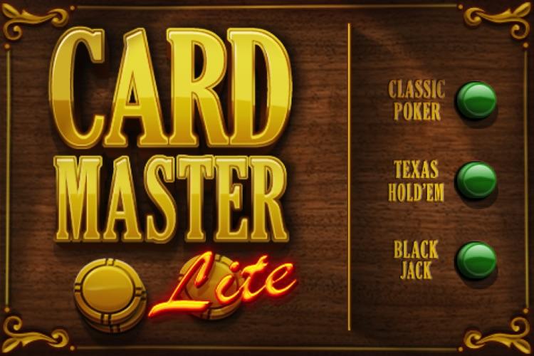 Card Master Lite - Texas Hold'em - Poker - Blackjack screenshot-4
