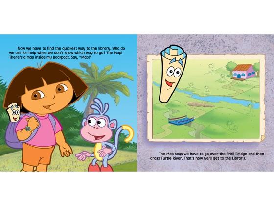 Dora S Backpack – Migliori Pagine da Colorare Dora Backpack And Map on