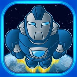 Super Iron Hero - Man in Space