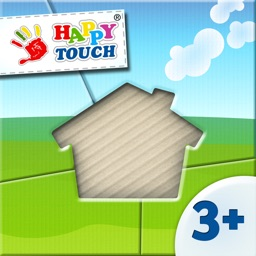 Happy-Touch® Puzzle - Set 2 - Around The House