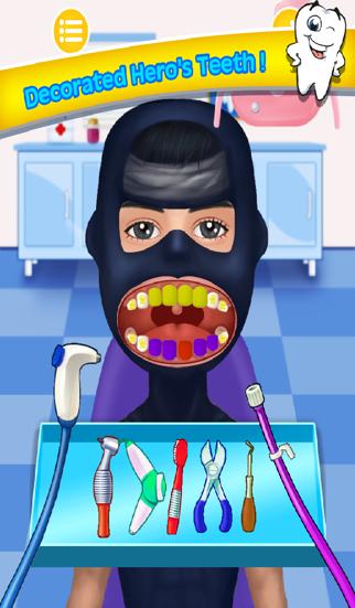 Bad Teeth Doctor and Hero Dentist Office - Help Celebrity