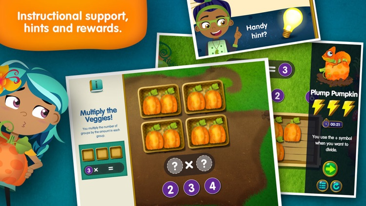Lumio Farm Factor: Multiply and Divide Basics screenshot-4