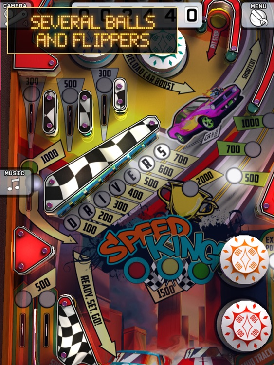 Art of Pinball HD - Speed King screenshot-3