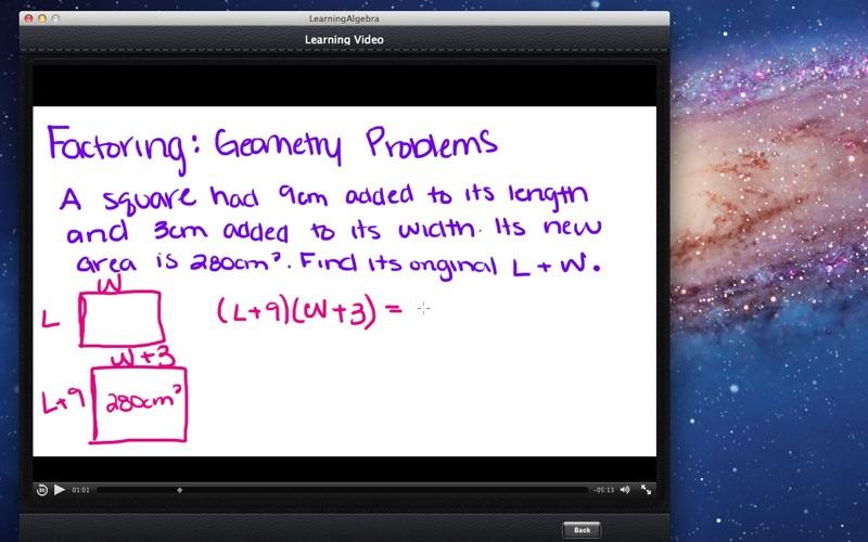 Learning Algebra screenshot 2