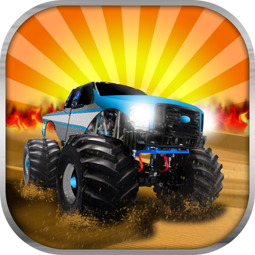 Monster Truck Parking Game - Free Trucks Games icon