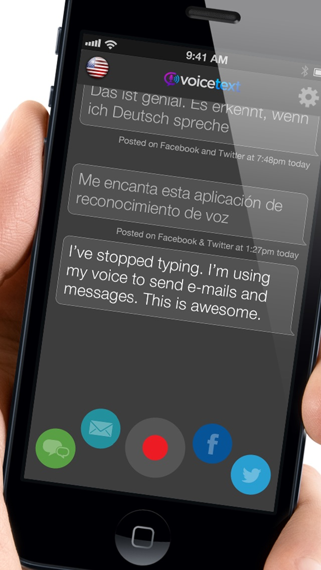 Voice Text Plus review screenshots
