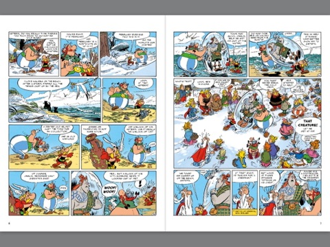 Asterix asterix and the picts by jean yves ferri on ibooks screenshot 2 altavistaventures Gallery