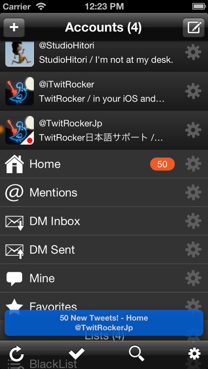 TwitRocker2 Lite for iPhone - twitter client for the next generation
