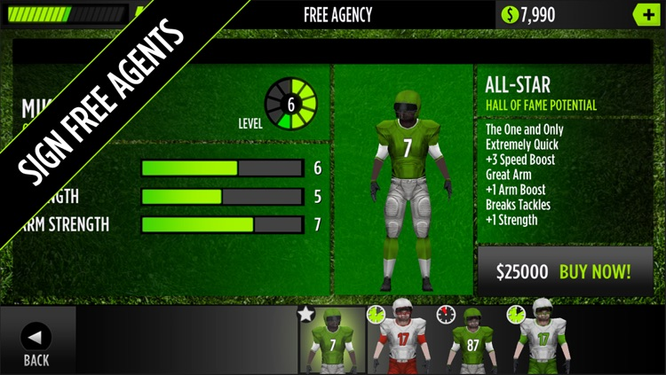 GameTime Football with Mike Vick : A Real Quarterback Sports Game screenshot-3