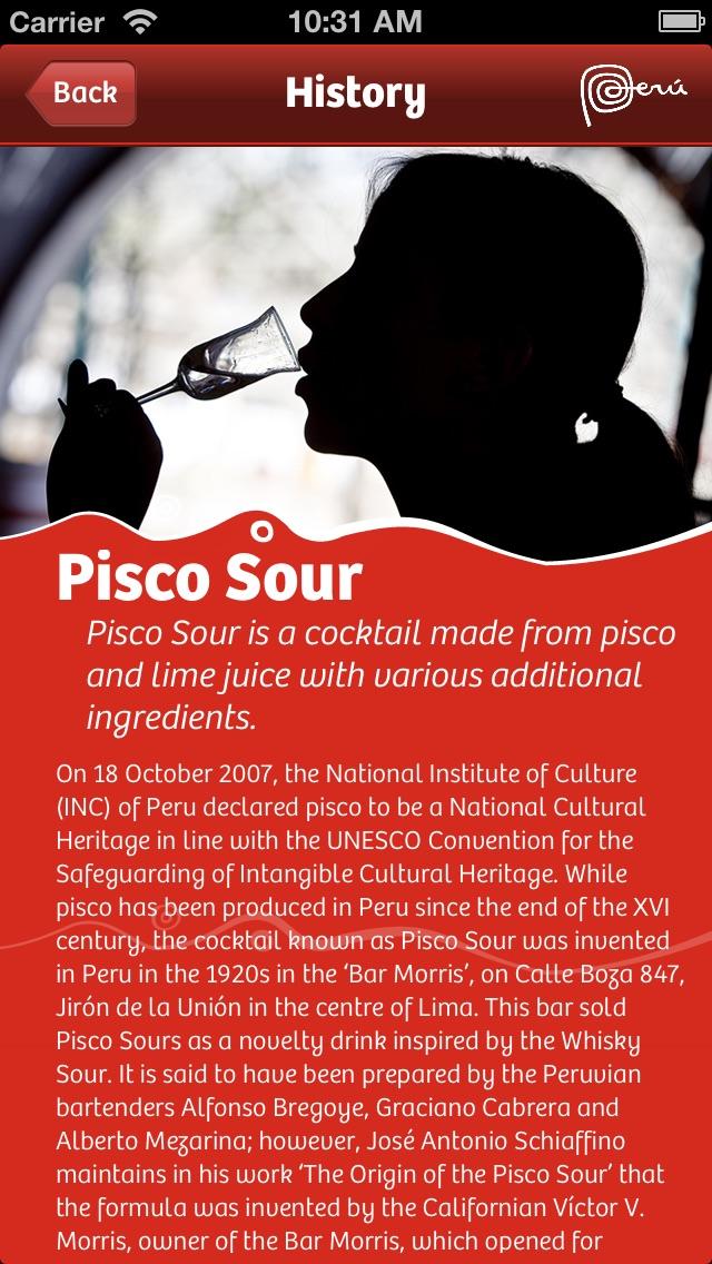 Pisco Peru app image
