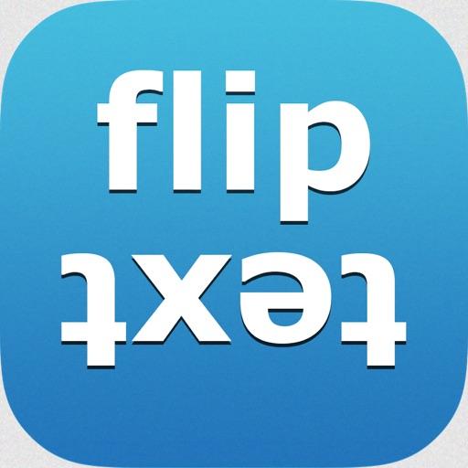 FlipText+Share on fb, twitter