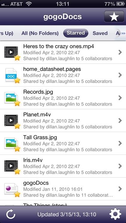 gogoDocs Google Drive ™ (Formerly Google Docs ™) Reader